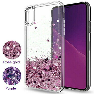 For Samsung Galaxy Note 10 Plus A70 A60 A50 A30 Liquid Glitter Bling Case Cover