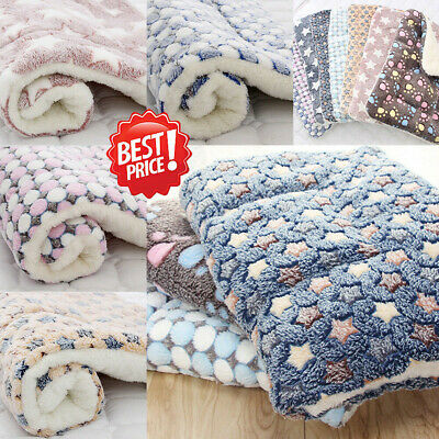 Dog Cat Puppy Pet Plush Blanket Mat Warm Sleeping Soft Bed Blankets Supply Hot!