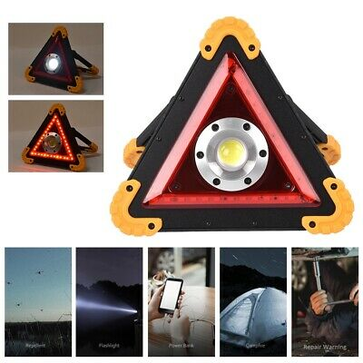 Car Emergency Breakdown Safety Road Stop Sign Triangle Traffic Warning Light