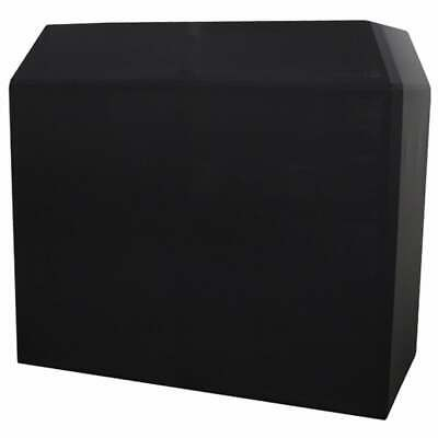 Equinox DJ Booth Replacement Black Scrim Lycra