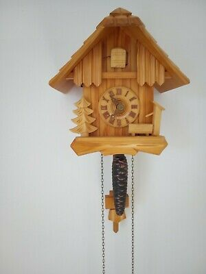 Vintage Black Forest Regula German Cuckoo Clock Needs Some attention.