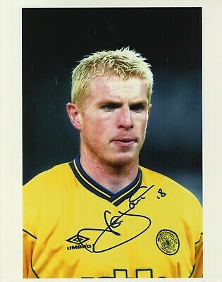 Celtic F.C. & Northern Ireland - Neil Lennon  In Person Signed Colour Photograph