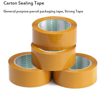 Waterproof Strong Package Clear Parcel Packing Tape Sellotape Carton Sealing