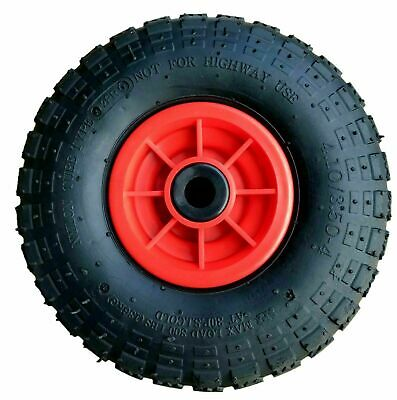 """10"""" Pneumatic Sack Truck Trolley Wheel 4.10 - 4 Choose Your Bore Size"""