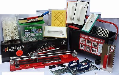 Professional Tiling Tool Kit 20 Pcs Complete Set JOKOSIT GERMAN MADE