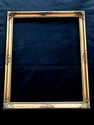 Pretty Empty Gold Gilt Ornate Vintage Antique Shabby Chic Photo Picture Frame