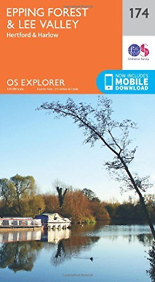 Ordnance Survey-Epping Forest & Lee Valley NEW
