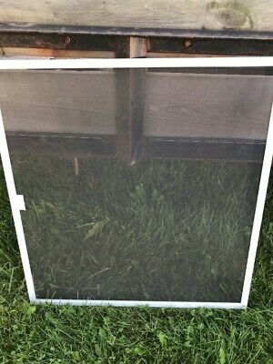 "4 replacement Metal Frame Screen Window/ Storm door 26 3/4"" x 28 1/2"" "" x 0.300"""