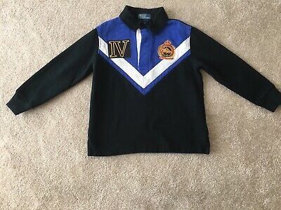 Boys Ralph Lauren Rugby Style Polo Top Size 5yrs