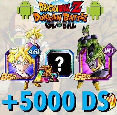 🐉Dokkan Battle🐉- Global - 3 LR Gohan / Cell + 4750 DS ⭐️(Android / iOS )