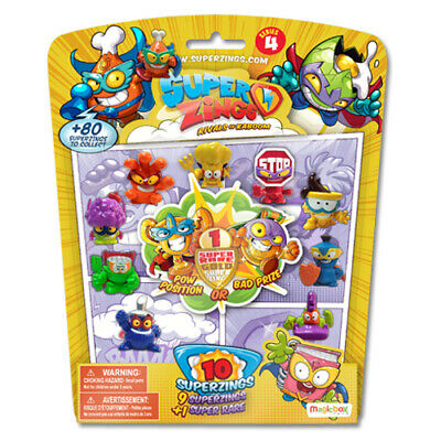 Superzings Series 4 Blister Pack 10 New Sealed
