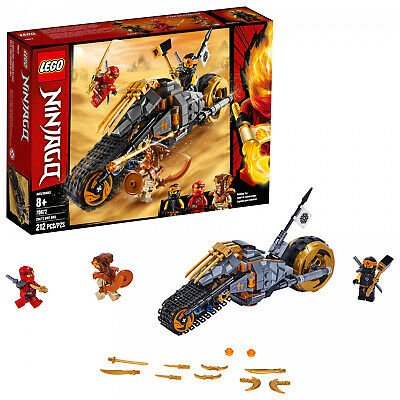 LEGO Ninjago Coles Dirt Bike 70672 Toy Building Kit 212 Pieces