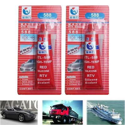 100g Car Motor Gap Seal Strong Adhesive Glue High Temperature Sealant Repair