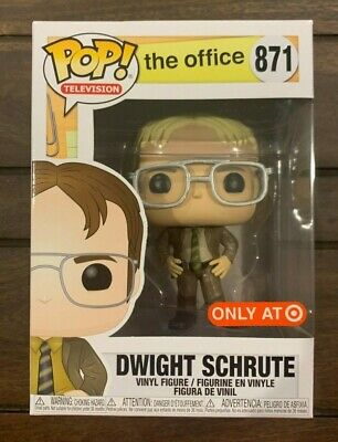 Funko POP!  The Office: Dwight Schrute as Jim - Target Exclusive #871 Fact! WOW