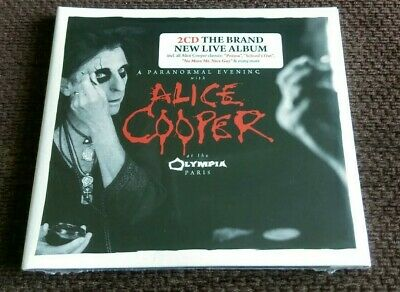 Alice Cooper - A PARANORMAL EVENING AT THE OLYMPIA PARIS 2 x Live CD