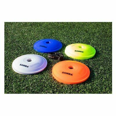 40 x SAMBA FLAT MARKER DISCS includes carry bag and strap (21cm diameter)