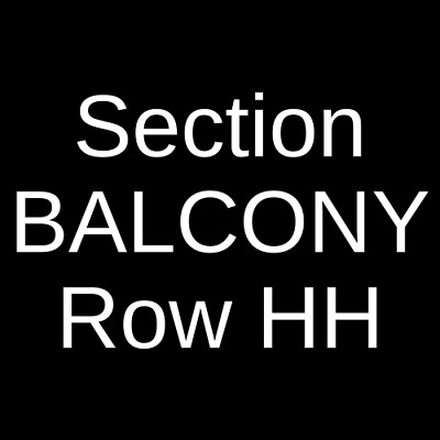 4 Tickets George Thorogood and The Destroyers 10/16/19 Champaign, IL