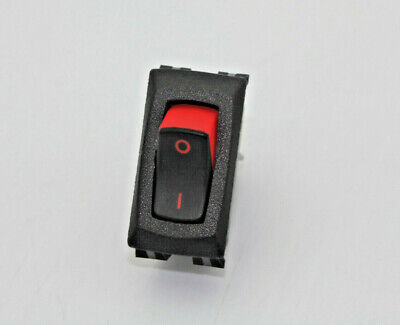 RA901//911T85 CARLING PANEL MOUNT SNAP-IN ROCKER SWITCH 16A 125VAC// 10A 250V
