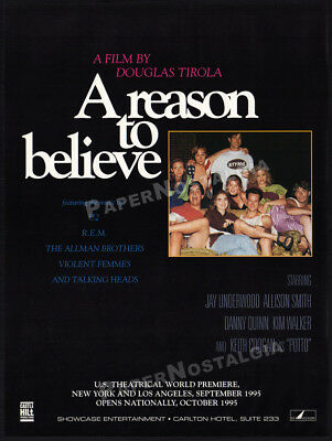A Reason To Believe Holly Marie Combs Very Rare Dvd Mint 4 99