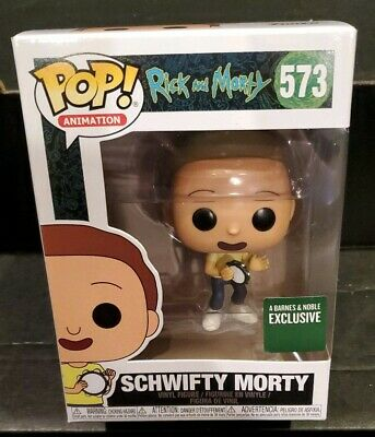 Barnes and Noble Exclusive Rick & Morty SCHWIFTY MORTY Funko Pop Figure