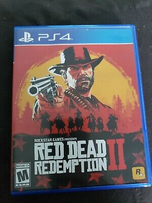 RED DEAD REDEMPTION II Video Game for PS4 Rockstar Rated M