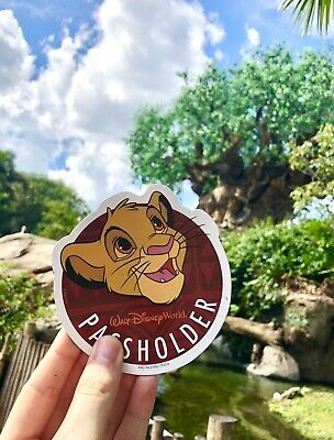 Walt Disney World Simba Annual Passholder Car Magnet Lion King Animal Kingdom