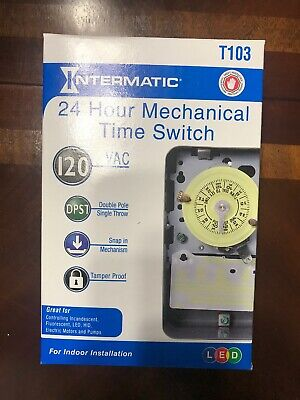 Intermatic T103PCD82 Electromechanical Timer Electrical Tools ...