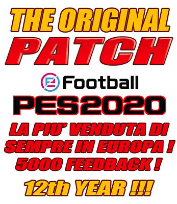 Original Patch Pes 2020 Ps4 - Option File  - Bundesliga - Serie B - Serie C - V7