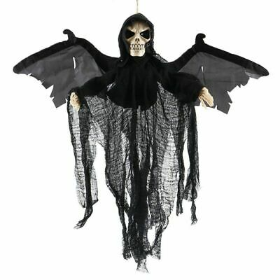 DIY Halloween Hanging Ghost Decorations Skull Skeleton Horror Outdoor Door Props