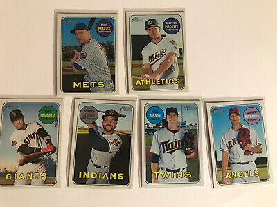 2018 Topps Heritage High Number Short Print SP LOT of (6)