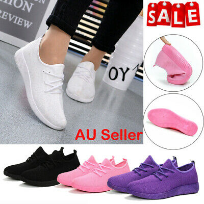 Lady Womens Athletic Sports Shoes Breathable Sneakers Trainers Running Gym Sport