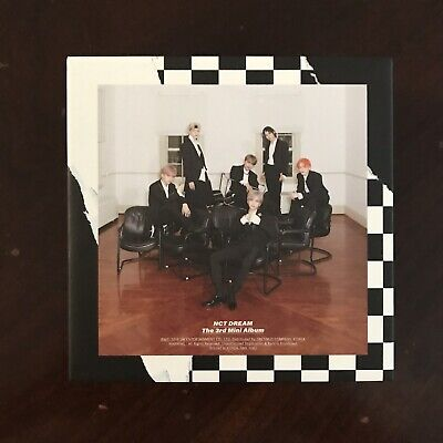 NCT Dream We Boom Kihno Ver Album - NO PHOTO BOOKLET OR PHOTOCARD