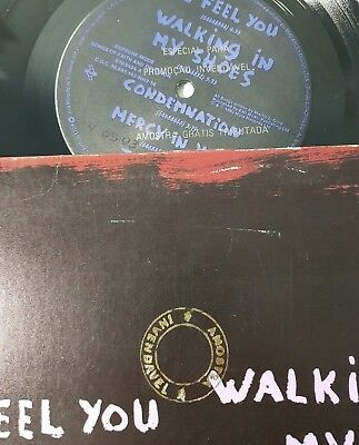 Depeche Mode Songs of Faith And Devotion Brazil PROMO LP -world violation ultra