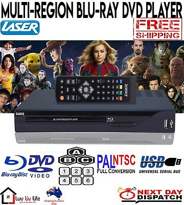NEW Blu Ray Player DVD Player HDMI Blue Ray Disc Audio CD Player Video HD Movies