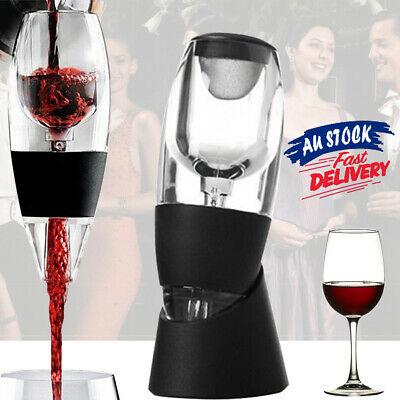 And RED Wine Aerator Decanter Essential AU Sediment Filter Magic