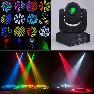 30W RGBW LED Moving Head Stage Lighting Lamp for Disco DJ Party DMX512