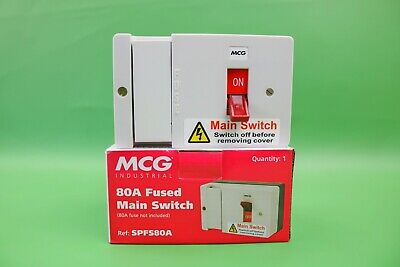 MCG 80A Fused Main Switch