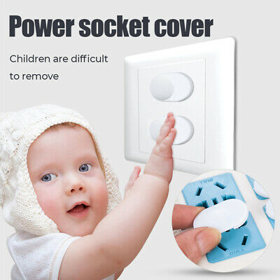 20X Baby Child Proof Electric Shock Guard Safety Outlet 2 Plug Protector Covers
