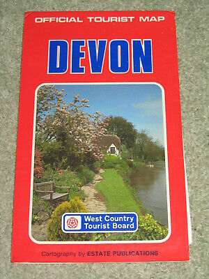 Devon Official Tourist Map by Estate Publications