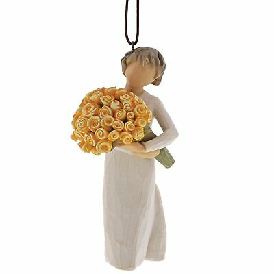 Willow Tree 27912 Good Cheer Flower Hanging Ornament