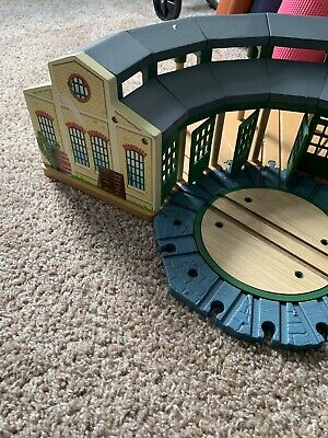 Remarkable Thomas The Train Wooden Railway Roundhouse Tidmouth Shed Home Remodeling Inspirations Genioncuboardxyz