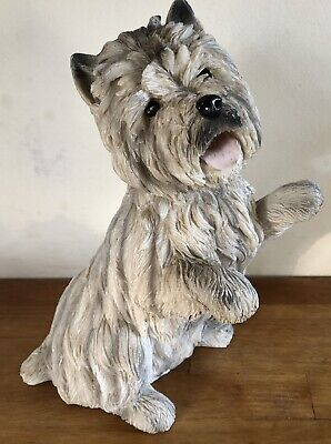 Latex Mould for making This Cute standing  Westie Dog