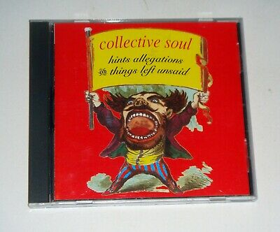 Collective Soul Hints Allegations and Things Left Unsaid CD FREE SHIPPING