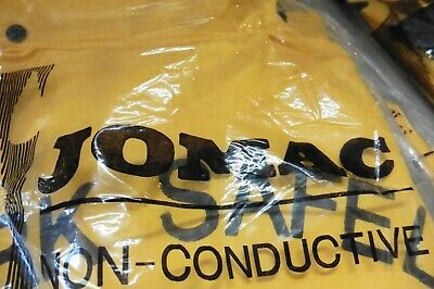 JOMAC Rain suit High visibility Yellow Size Large PVC water proof non conductive