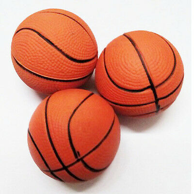 6.3CM Basketball Hand Wrist Exercise Stress Relief Squeeze Soft Foam Ball HK