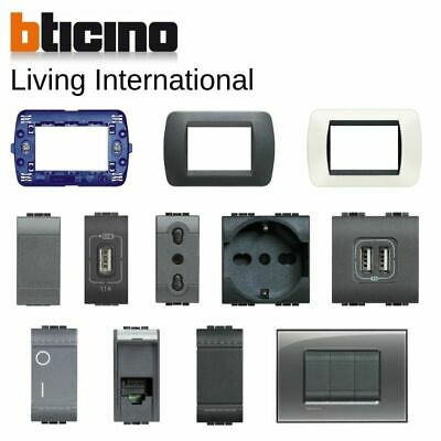 Bticino living international originale placche interruttore presa Livinglight
