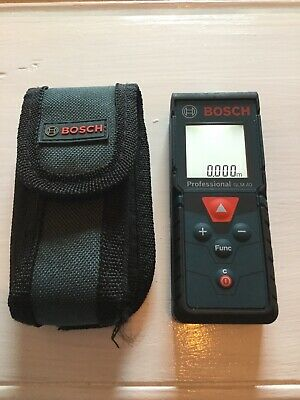Bosch GLM 40 Used Laser Measure with pouch