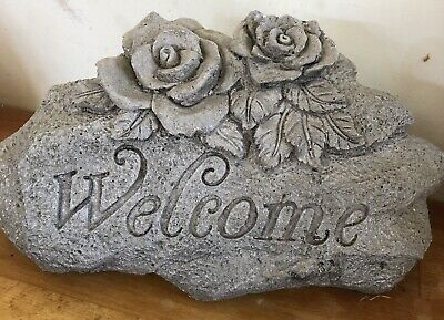 Latex Mould for Making This Large Rustic Welcome Rock