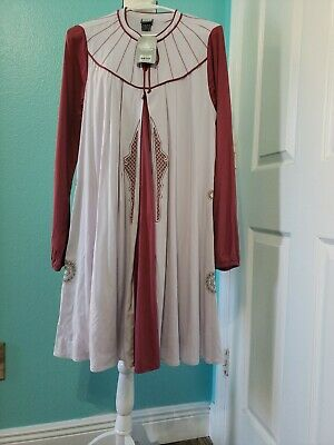 Disney Parks Her Universe Star Wars Princess Leia Bespin Costume  LG  L 37 in