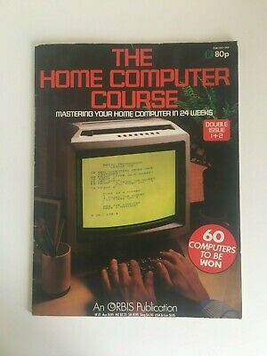 The Home Computer Course Magazine Double Issue 1 & 2 Good Cond.  Spectrum